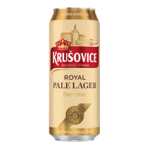 Õlu Krusovice Imperial 5%vol 0,5l prk
