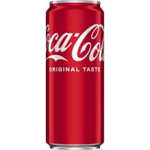 Gāzēts dzēriens coca cola 0.33l