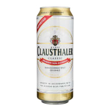 Nealkoholinis alus CLAUSTHALER, 0,5 l
