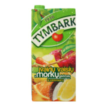 Įvairių vaisių ir morkų gėrimas TYMBARK, 2l