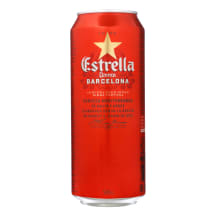 Alu.ESTRELLA Damm Barcelona, 4,6 %, 0,5 l sk.
