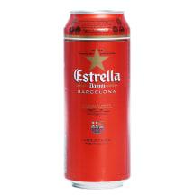 Alus Estrella Barcelona, bundžā 4,6% 0,5l