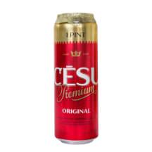 Alus Cēsu Premium, bundžā 5,2% 0,568l