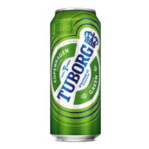 Alus Tuborg bundžā 4,6% 0,5l