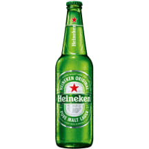 Alus HEINEKEN 5%, 0,5 l butelyje