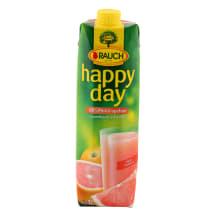 Rausvųjų greipfrutų sultys HAPPY DAY, 1l