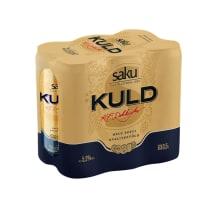 Õlu Saku Kuld 5,2%vol 0,5l purk 6-pakk