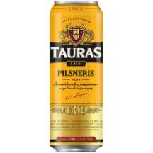 TAURO alus Pilsneris, 4,6 %, 0,568 l