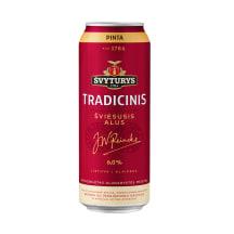 ŠVYTURIO Tradicinis alus, 6 %, 0,568 l