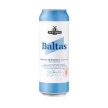 ŠVYTURIO Baltas alus, 5 %, 0,568 l
