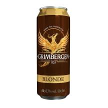 Õlu Grimbergen Blonde 6,7%vol 0,5l