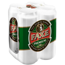 Alus FAXE Premium, 5 %, 4 X 0,5 l
