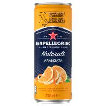 Gaz. gėrimas, S.PELLEGRINO Aranciata, 330ml