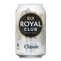 Gaz.gaiv. gėrimas, ROYAL CLUB TONIC, 330ml sk