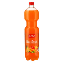 Įvairių vaisių gėrimas RASA JUICE, 1,5l