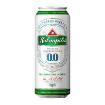 Nealkoholinis alus KALNAPILIS, 0,5 l