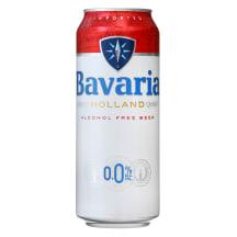 Nealkoholinis alus BAVARIA, 0,5 l