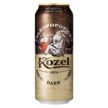 Alus VELKOPOPOVICKY KOZEL Dark, 3,8 %, 0,5 l