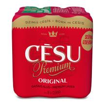Alus Cēsu Premium 5,2% 6x0,568l
