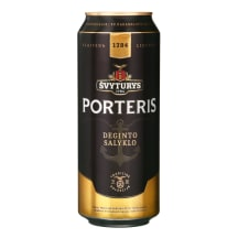 Alus ŠVYTURYS PORTERIS, 6,9 %, 0,5 l skardinė
