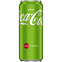 Gaivusis gėrimas COCA-COLA LIME, 330ml