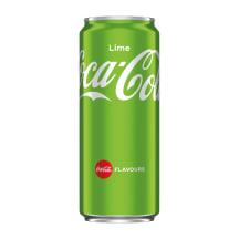 Gāzēts dzēriens Coca-cola lime 0.33l