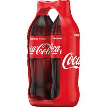 Gāzēts dzēriens Coca-Cola ZIP paka 2x1,5l