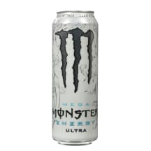 Energ. gėrim.,MEGA MONSTER ENERGY ULTRA, 553m