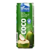 Kokosų vanduo GREPO, 320ml