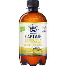 Kombucha jook Captain Kombucha Ananassi 0,4l
