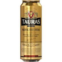 Nefiltruotas TAURO alus, 5 %, 0,568 l
