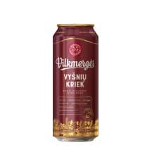 VILKMERGĖS alus VYŠNIŲ KRIEK, 5 %, 0,5l, sk.