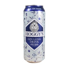 Muu alk.jook Hoggy's Gin long drink 5% 0,5l
