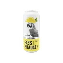 Alk.vaba õlu ALC Fassbrause sidrun 0,5l