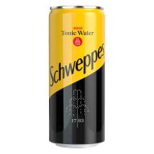 Gaz. gaiv. toniko sk. gėrimas SCHWEPPES,0,33l