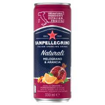 Gaz. gėrimas SANPELLEGRINO MELOGRANO, 330ml