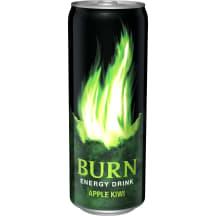 Enerģijas dzēriens Burn ābolu, kivi g. 0,33l