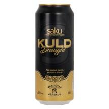 Õlu Saku Kuld Draught 5,2%vol 0,5l purk