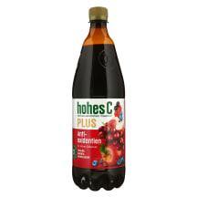 Vyn.aron.mėlynių sultys HOHES C PLUS,100 %,1l