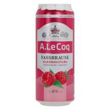 Alk.vaba õlu Fassbrause vaar. A.Le Coq 0,5l