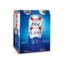 Alus KRO 1664 BLANC, 5 %, 0,5 l x 4 vnt.