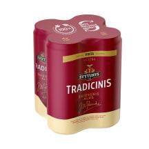 Alus ŠVYTURYS TRADICINIS, 6 %, 0,568l x 4vnt.