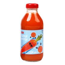Morkų nektaras RIMI, 0,33 l