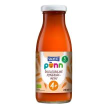 Põnn Öko Porgandimehu 240 ml (4 kuud)