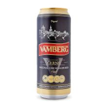 Õlu Vamberg Dark Lager 4,4%vol 0,5l purk