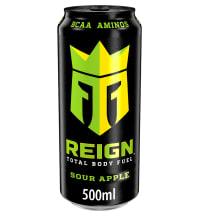 Energinis gėrimas REIGN SOUR APPLE, 0,5 l