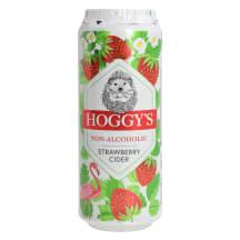 Alk.vaba siider Hoggys Strawberry 0,5l
