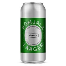 Õlu Põhjala Laager 4,7%vol 0,44l purk