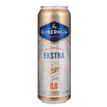 Nealkoholinis GUBERNIJOS alus EKSTRA, 0,568 l