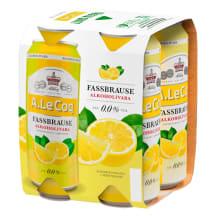 Alk.aba õlu ALC Frassbrause Lemon 4x0,5l purk